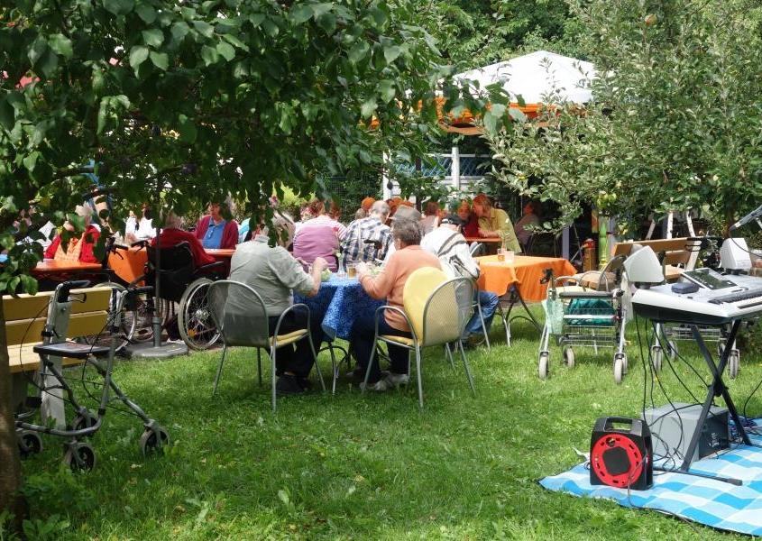 Sommerfest im Wohnpark am Weiher